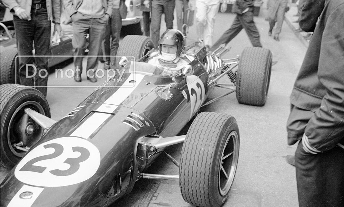 Dan Gurney the Legend All American Racer Eagle Monaco GP 1967
