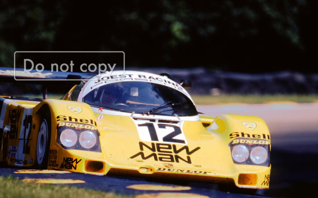 Porsche 956 Newman Brands Hatch 1000km 1984