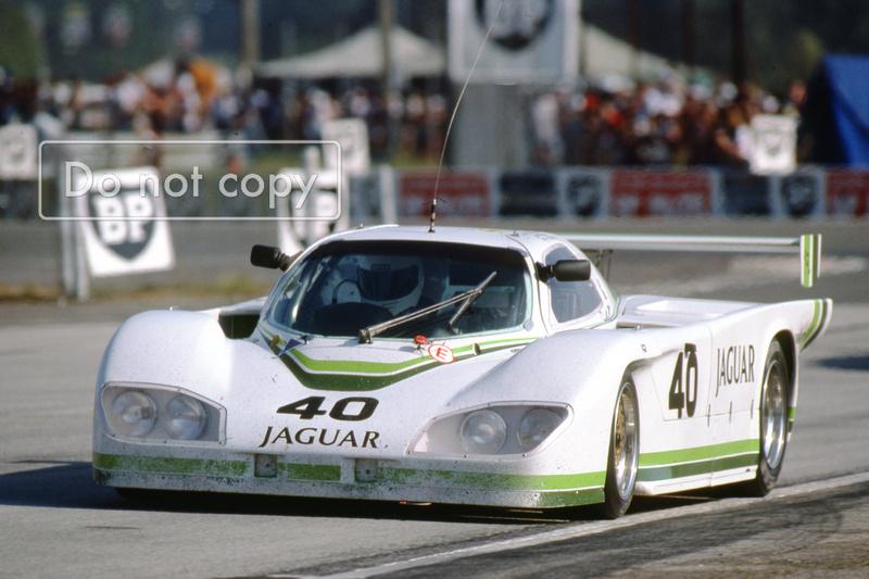 Group 44 Jaguar le Mans John Watson Tony Adamowicz Lena 1984