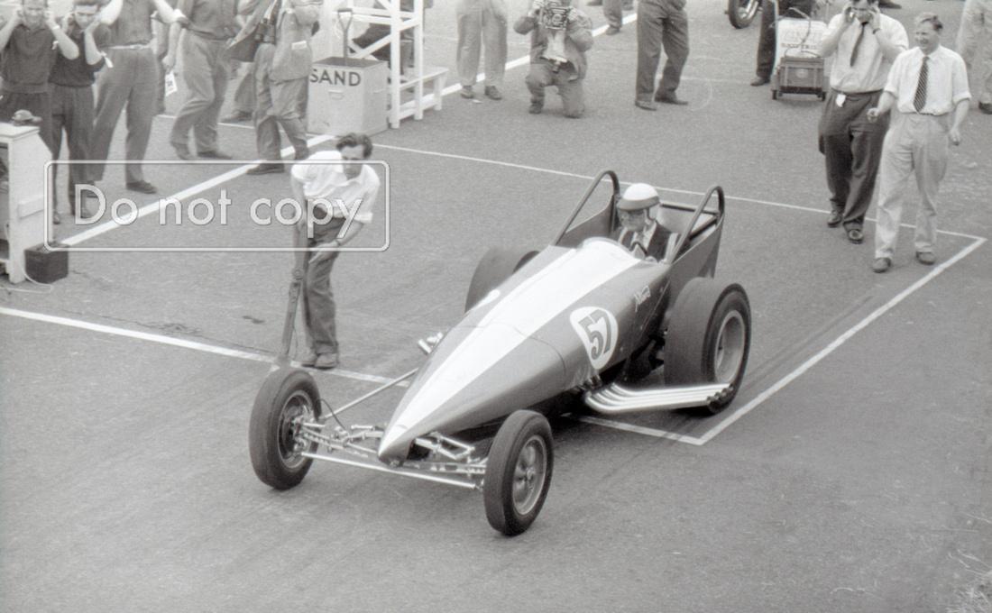 Sydney Allard Dragster Brighton Speed Trials 1962